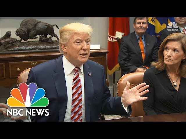 President Donald Trump Says He Wants Tax Bill On His Desk By Christmas | NBC News