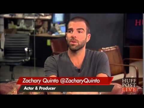 Zachary Quinto talk about working with James Franco in his new film