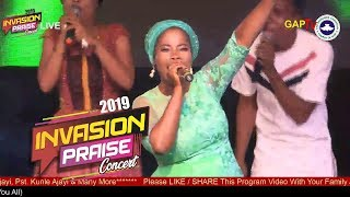 Yetunde Are @ RCCG KayWonder INVASION PRAISE CONCERT 2019