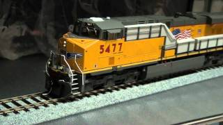 Demo-INTERMOUNTAIN ES44AC UNION PACIFIC #5477 W/SOUNDS