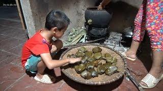 Phong Tục Gói Bánh Ăn Tết Rằm Tháng 7 Của Người Nùng Lạng Sơn