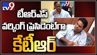 KTR appointed as TRS party working president