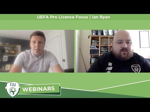 UEFA Pro Licence Focus | Ian Ryan