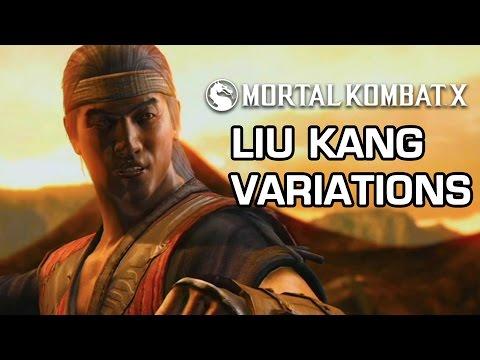 Liu Kang Variations Official Breakdown - Mortal Kombat X video