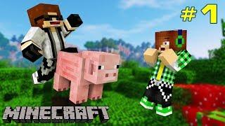 ĐÀN LỢN KÌ LẠ GIỮA RỪNG XANH ??   Minecraft: Nhiệm vụ gián điệp w/ Dương FG [1]