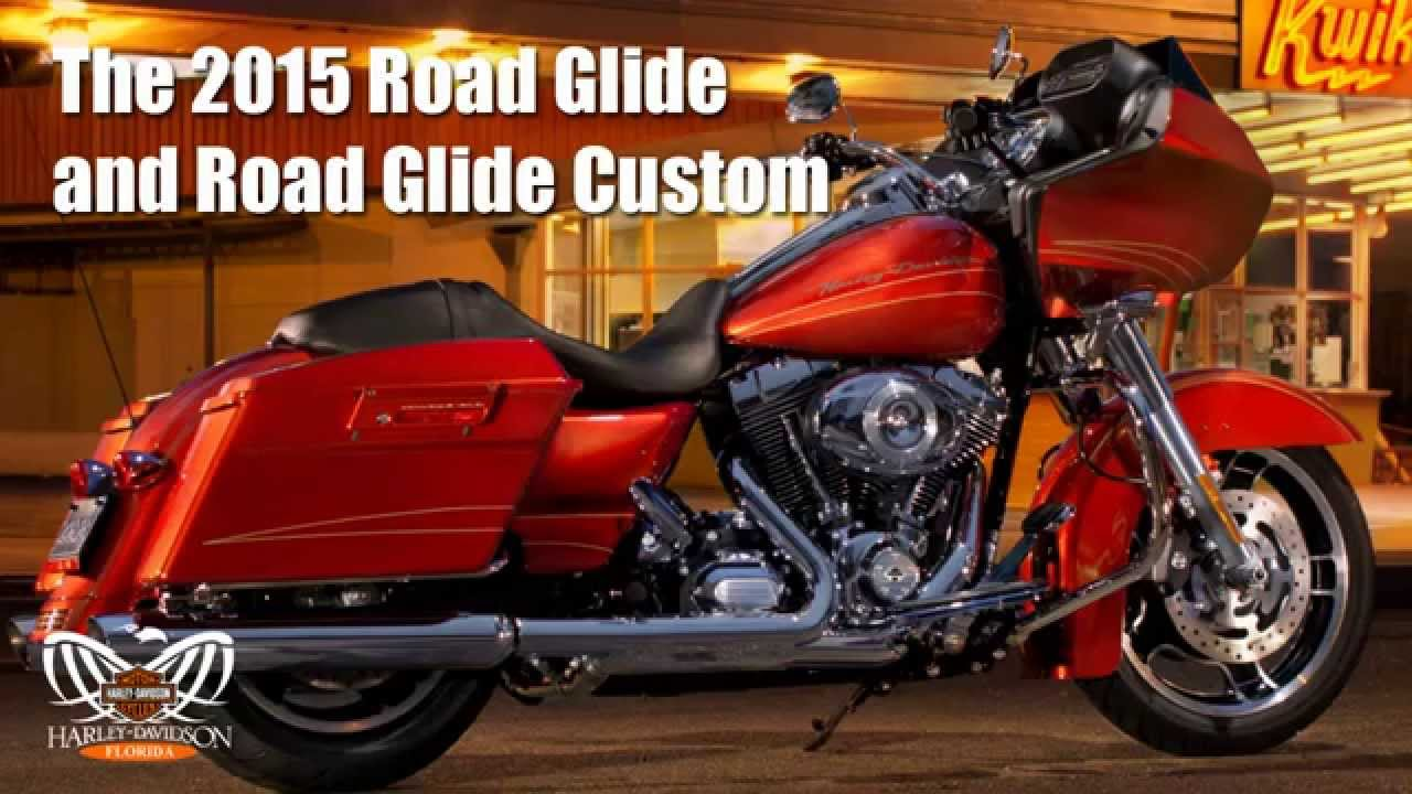New 2015 Harley Davidson Road Glide Custom & Road Glide Special