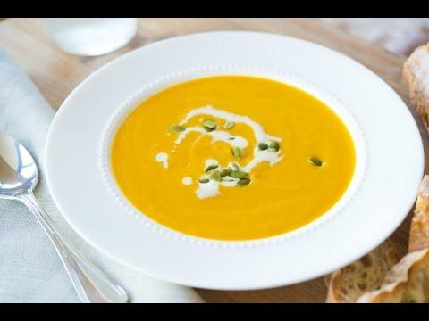 DELICIOUS BUTTERNUT SQUASH SOUP RECIPE - Thanksgiving Idea