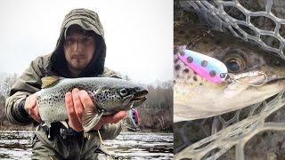 BIG Landlocked Salmon - NORTHEAST TROLLER CASTING SPOONS!