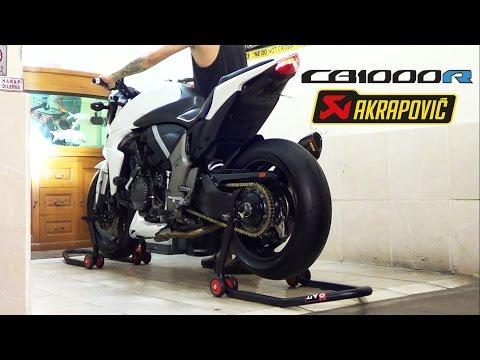 Honda CB1000R 2012 ABS. SOUND!! Exhaust Akrapovic Titanium 3/4 System (istimewa)