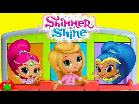 Shimmer and Shine Trapped Learn Shapes and Colors