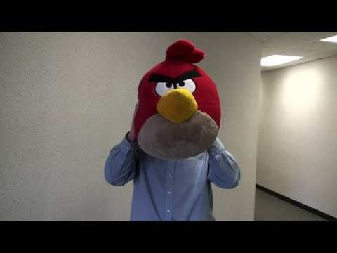 Jumbo Angry Birds Plush from ThinkGeek