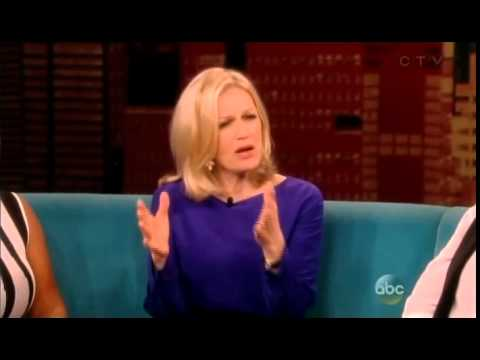 Diane Sawyer talks Hillary Clinton on The VIEW show