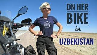 Uzbekistan. On Her Bike Around the World. Episode 8.