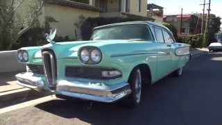 1958 Edsel Ranger Sedan For Sale from Private Collection