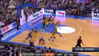 Unicaja Málaga VS Maccabi Tel Aviv 66:70 Euroleague 2014-15 Highlights