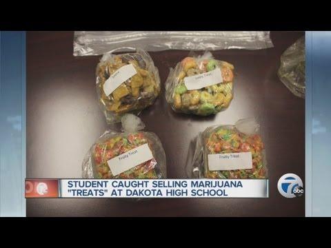 "Student caught selling marijuana ""treats"" at Dakota High School"