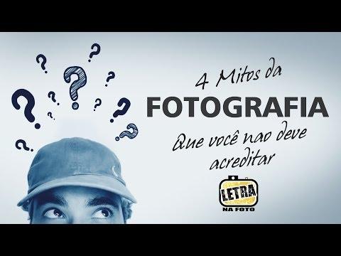 4 Mitos da Fotografia - Letra na Foto