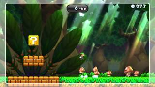 Big Goomba Bounce Bash Gold Medal - New Super Mario Bros. U (19-Up)