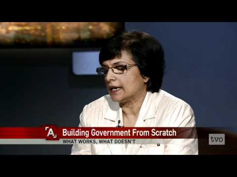Frances Noronha: Building Government From Scratch