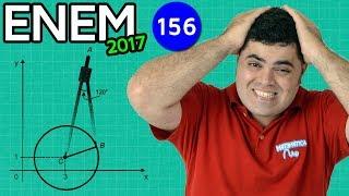 download musica 🔥 ENEM 2017 Matemática 21 👉 Compasso e Trigonometria com truque questão difícil