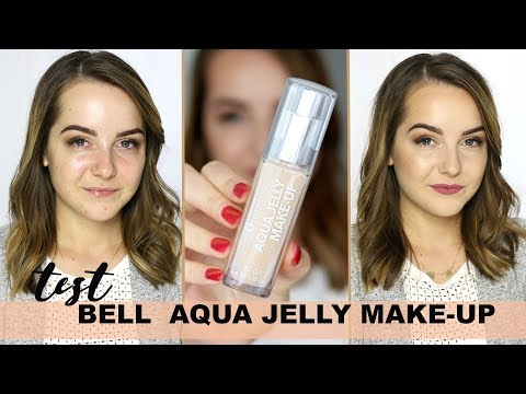 PODKŁAD JAK GALARETKA?! BELL AQUA JELLY MAKEUP | Milena Makeup