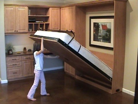 Wall Folding Beds Into Wall Easy to open &clos...