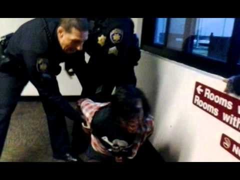 Man Detained by Police at SF State Dorms Part 2