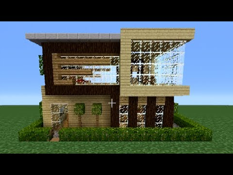 Minecraft 360: Modern House Tutorial House Number 3