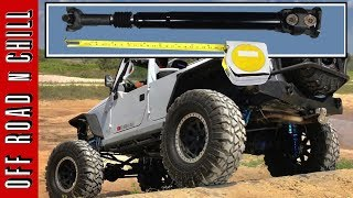 How to Measure Driveshaft / How to measure your Jeep wrangler Drive shaft
