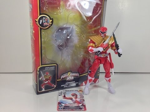 Review: Armored Mighty Morphin Red Ranger (Power Rangers Megaforce)