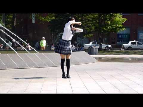 Japanese High School Girls Dancing video