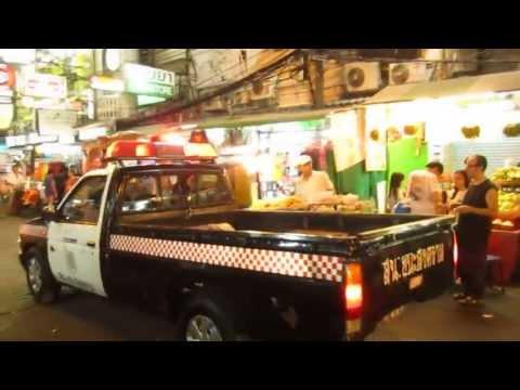 Police @ Khao San Road Bangkok