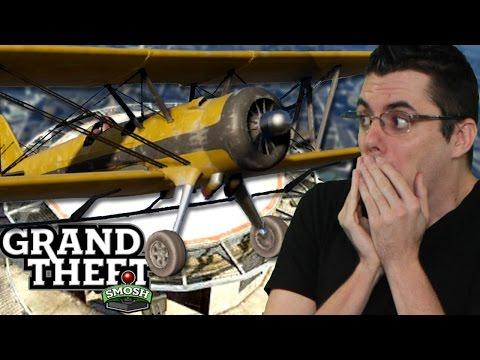Epic Gta Bank Landing (grand Theft Smosh) video