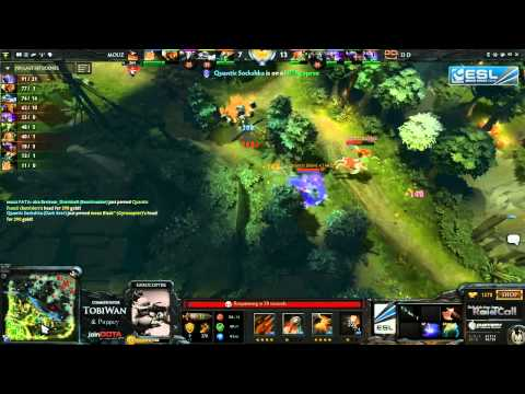 Quantic Gaming vs Mousesports Game 2   RaidCall EMS One Summer DOTA 2 Cup #3   TobiWan