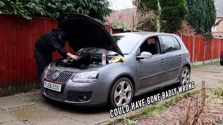 Fixing a BIG Problem with the 200,000 Mile GTI!