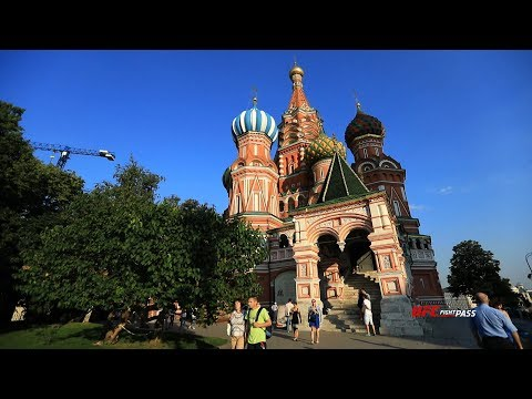 UFC Fight Night Moscow: Fighting in Russia