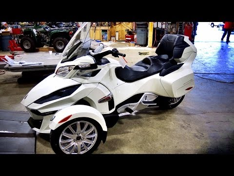 All New 2014 Can Am Spyder RT! - 1st Real Test Ride!  | TestRides