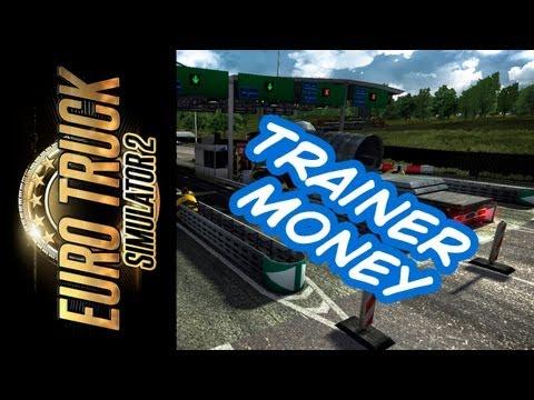 Money Cheat Trainer para o Euro Truck Simulator 2; Dinheiro Fácil