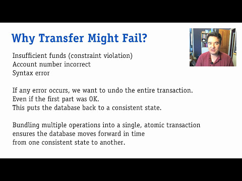 Database Transactions, part 1: Introduction