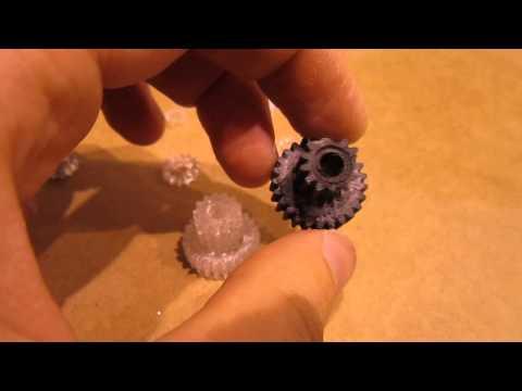 Ремонт пластиковых шестерни
