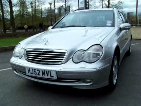 mercedes c220 cdi avantgarde estate 2002 youtube. Black Bedroom Furniture Sets. Home Design Ideas