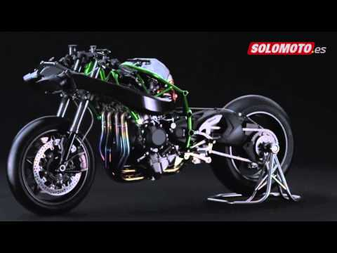 As� es la Kawasaki Ninja H2R