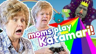 These Moms CAN'T HANDLE Katamari Damacy!