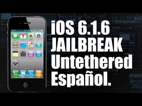 Tutorial: iOS 6.1.6 Jailbreak Untethered - iPod iPhone iPad - (En español)
