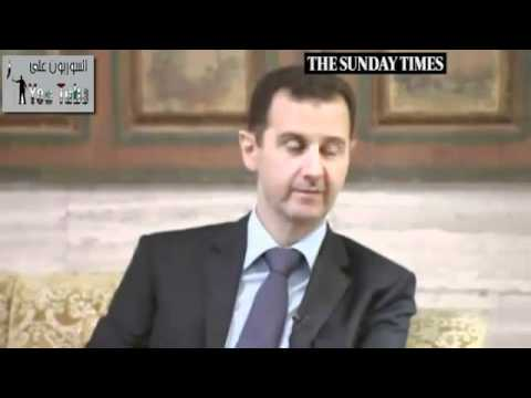 Interview with president Bashar Al-Assad - The Sunday Times