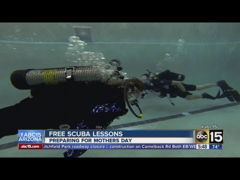 Free scuba diving lessons