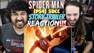 Marvel's SPIDER-MAN - SDCC 2018 Story Trailer | PS4 - REACTION!!!