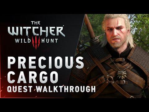 "The Witcher 3: Wild Hunt - ""Precious Cargo"" quest walkthrough"