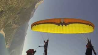 cca - Paragliding SIV - Full stall, negative spin, positive spin, wingover, SAT