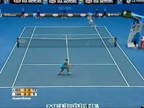 Maria Sharapova vs Elena Vesnina 2008 AO Highlights Video